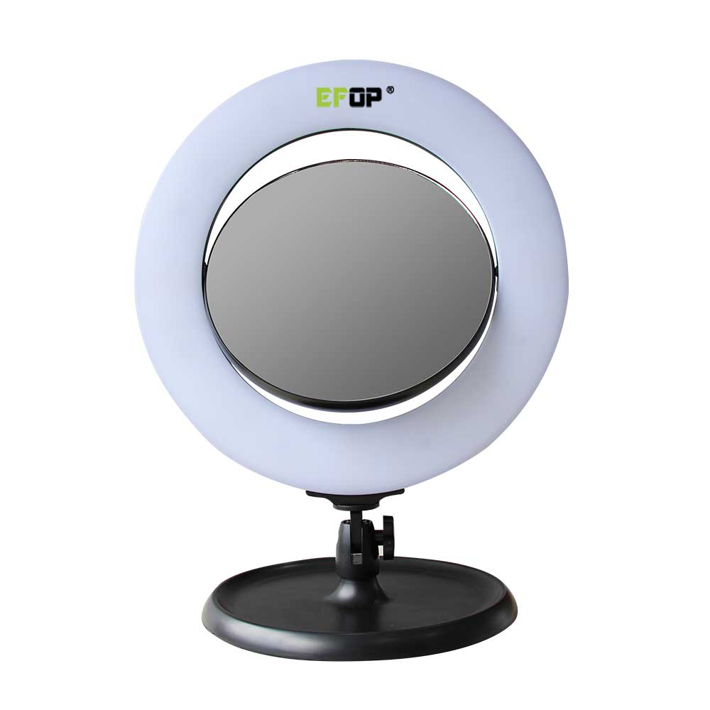 Makeup Ring And Lights: Light Up Vanity Mirror