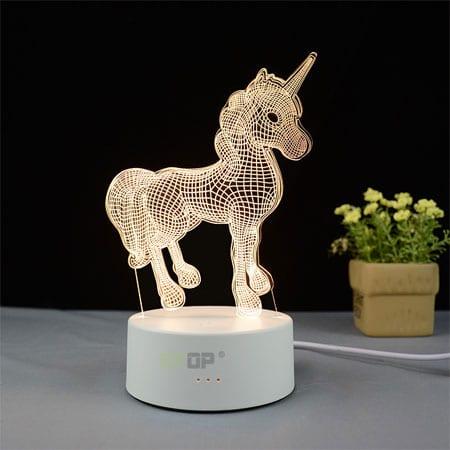 3d led lamp animals