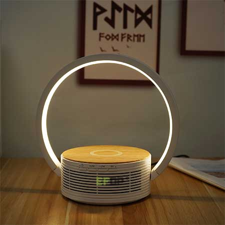 wireless bluetooth charging lamps